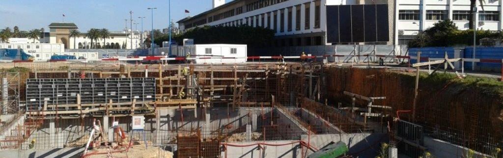Empresa española de construcción en Marruecos