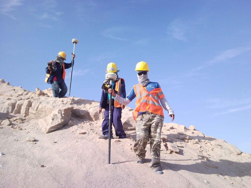 Contratación de equipos topográficos en Marruecos